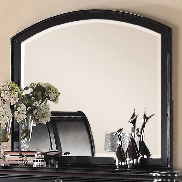 Lady Valerie Mirror- Black