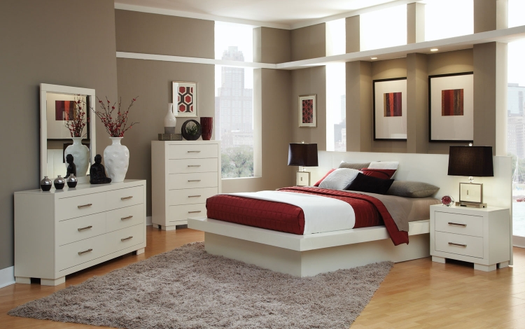 Jessica Bedroom Set - White - Coaster