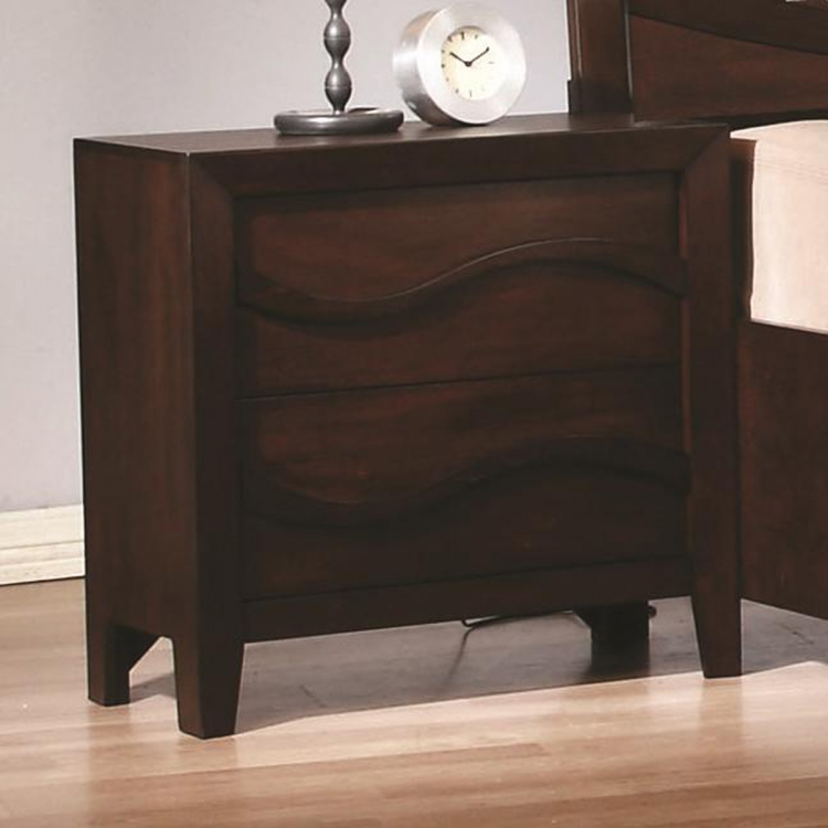 Loncar Night Stand - Java Oak
