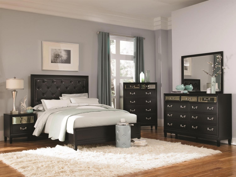 Devine Bedroom Collection - Black