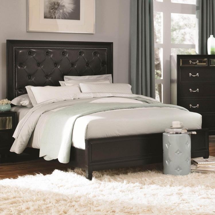 Devine Bed - Black