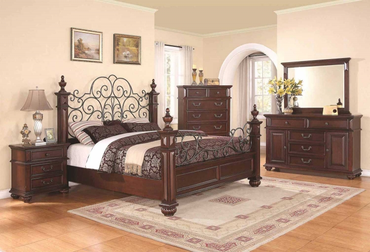 Kessner Bedroom Collection - Cherry