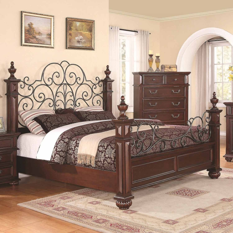 Kessner Bed - Cherry