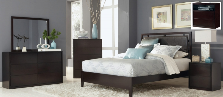 Coaster Hudson Bedroom Set - Espresso