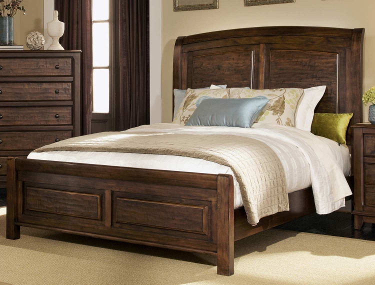 Laughton 203260 Bed - Cocoa Brown