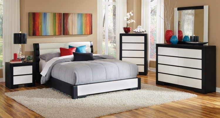 Kimball Bedroom Set - Black