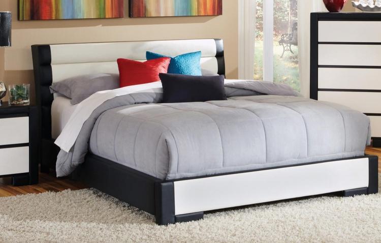 Regan Platform Bed - Black