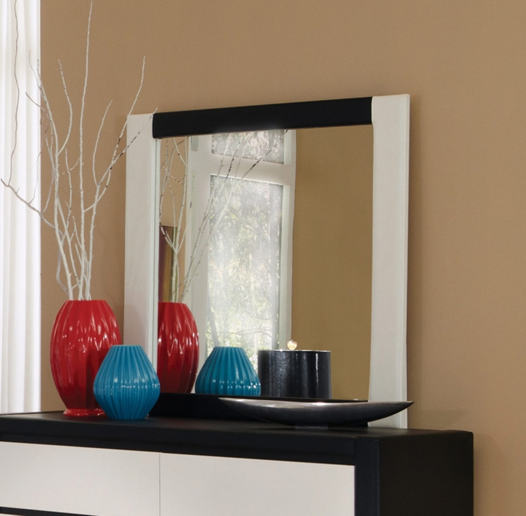 Kimball Mirror - White