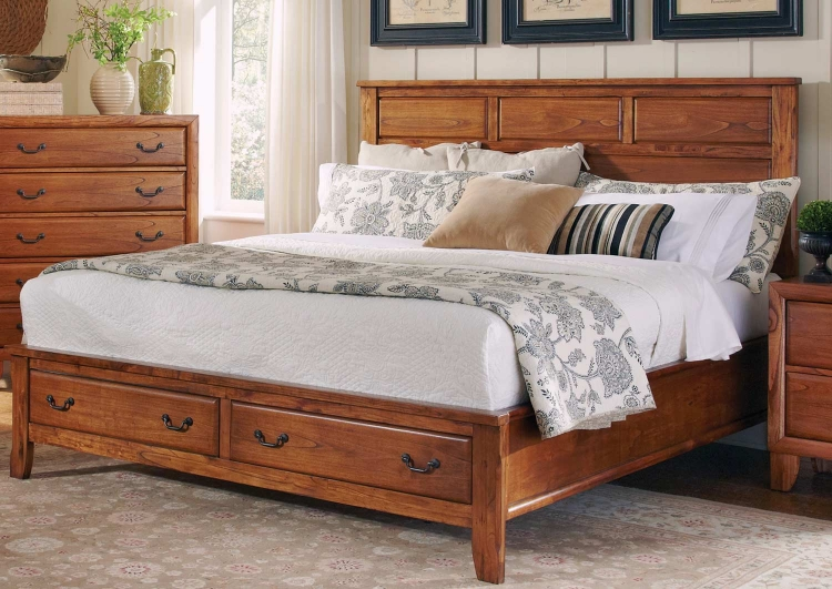 Willow Creek Bed - Oak