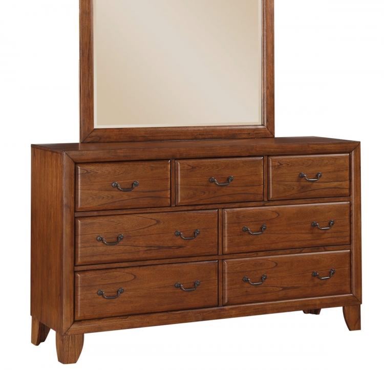 Willow Creek Dresser - Oak