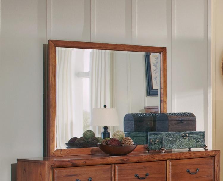 Willow Creek Mirror - Oak