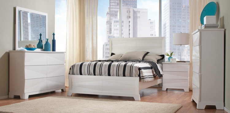 Coaster Karolina Bedroom Set - White