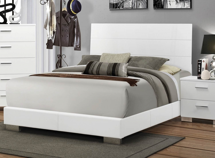 Felicity Bed - White