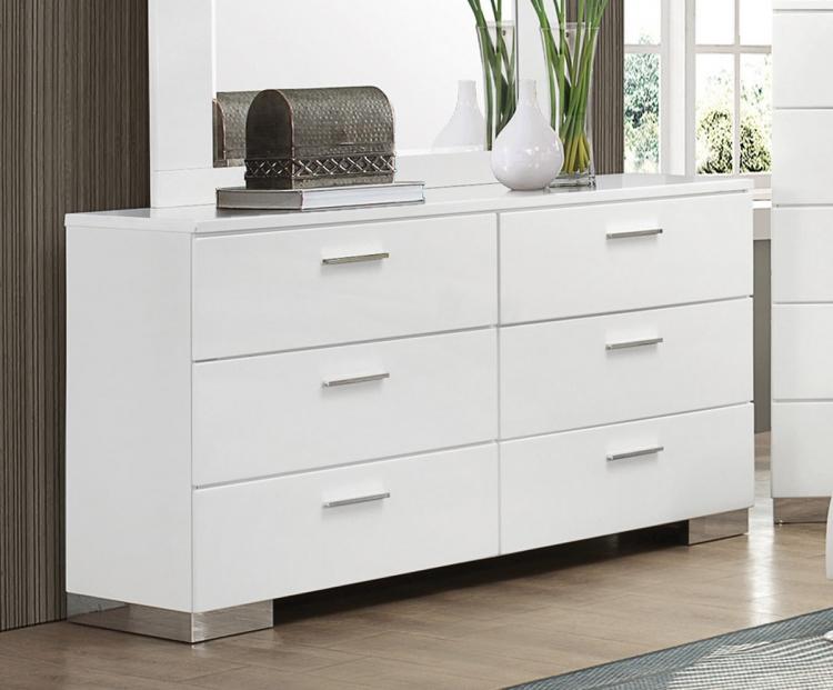 Felicity Dresser - White
