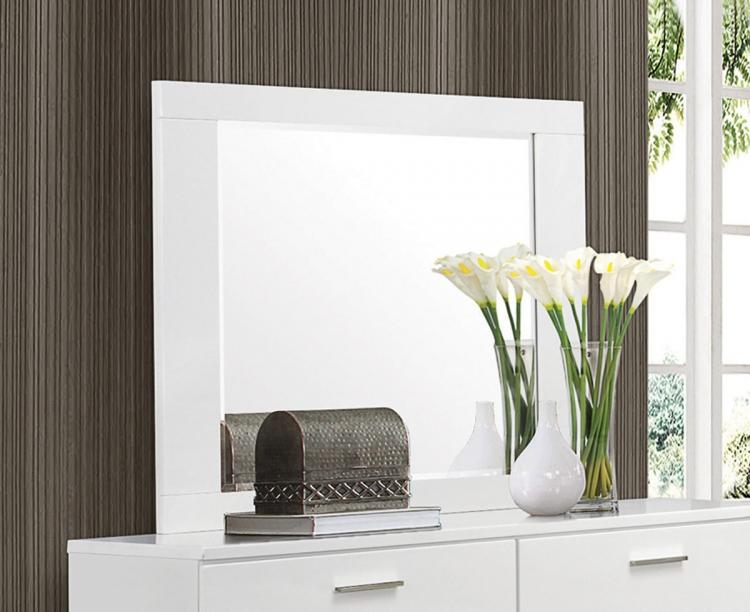 Coaster Felicity Bedroom Set White 203501 Bed Set At Homelement Com