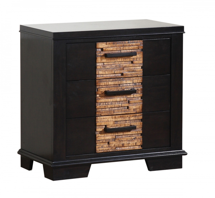 Dominic Night Stand - Charcoal