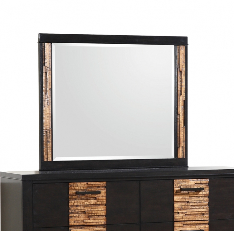 Dominic Mirror - Charcoal