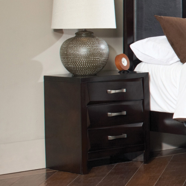 Palmetto Night Stand - Cappuccino