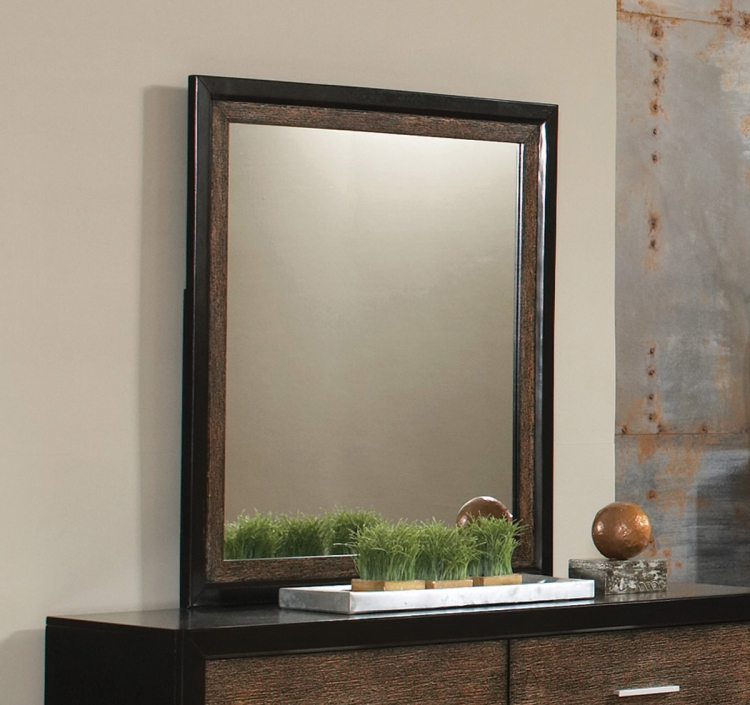 Landon Mirror - Black