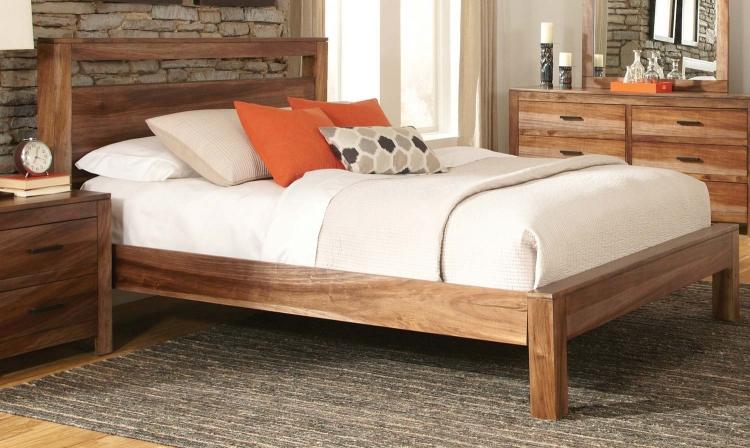 Peyton Bed - Natural Brown
