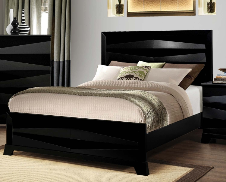 Karolina Bed - Black