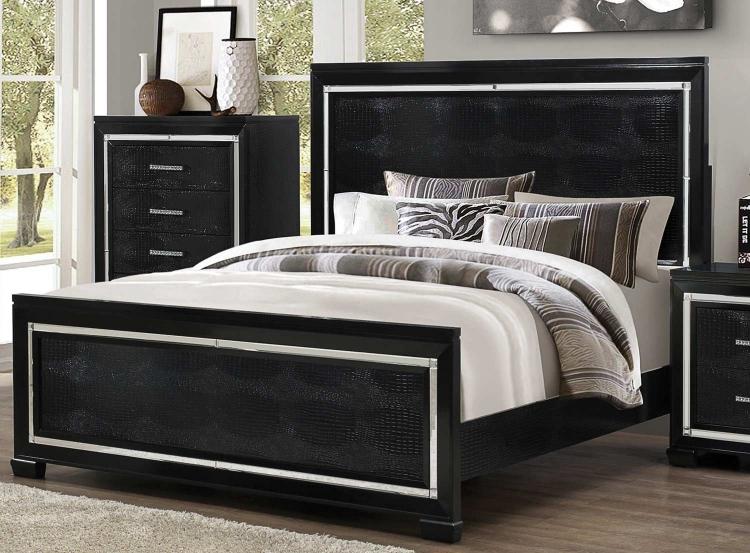 Zimmer Bed - Black