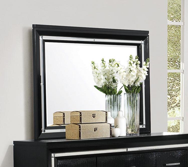 Zimmer Mirror - Black