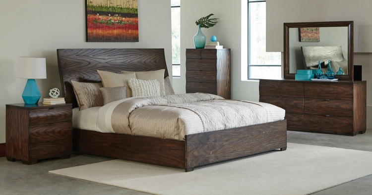 Calabasas Bedroom Collection - Dark Brown