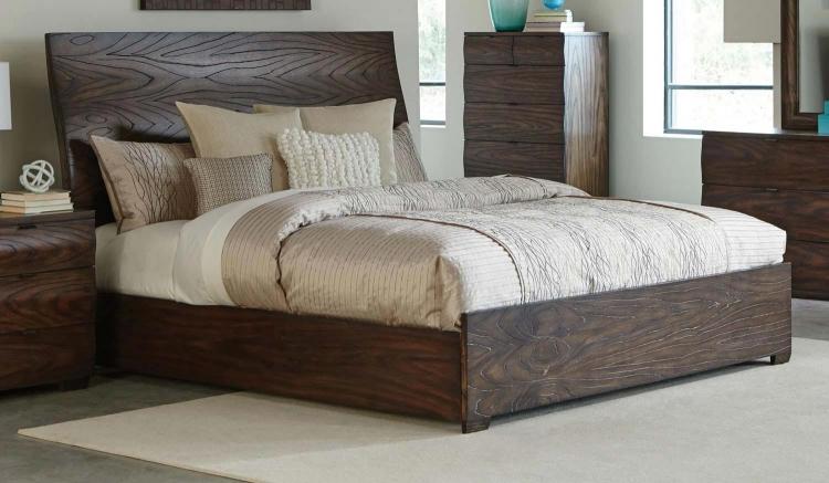 Calabasas Bed - Dark Brown