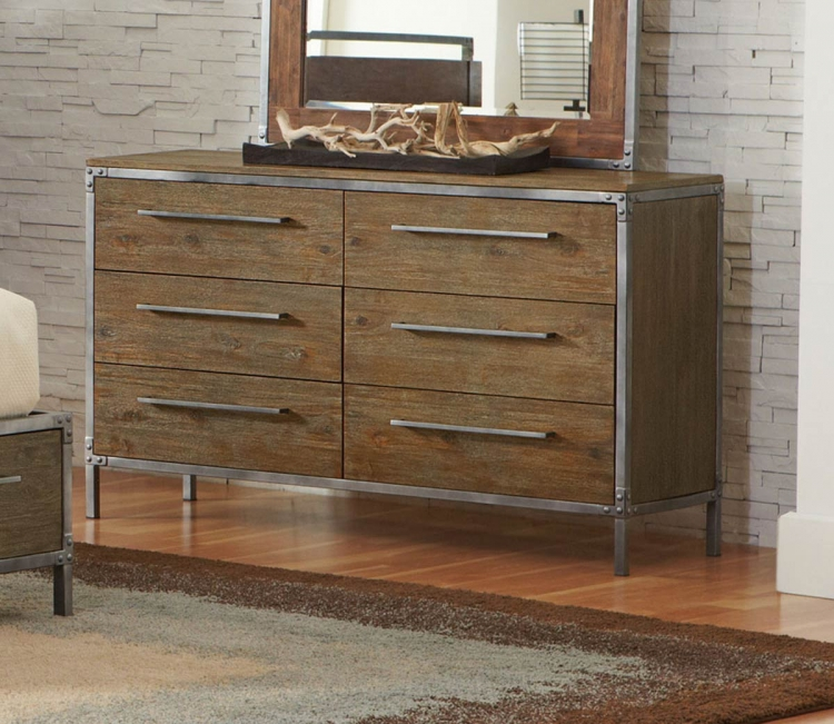 Arcadia Dresser - Weathered Acacia