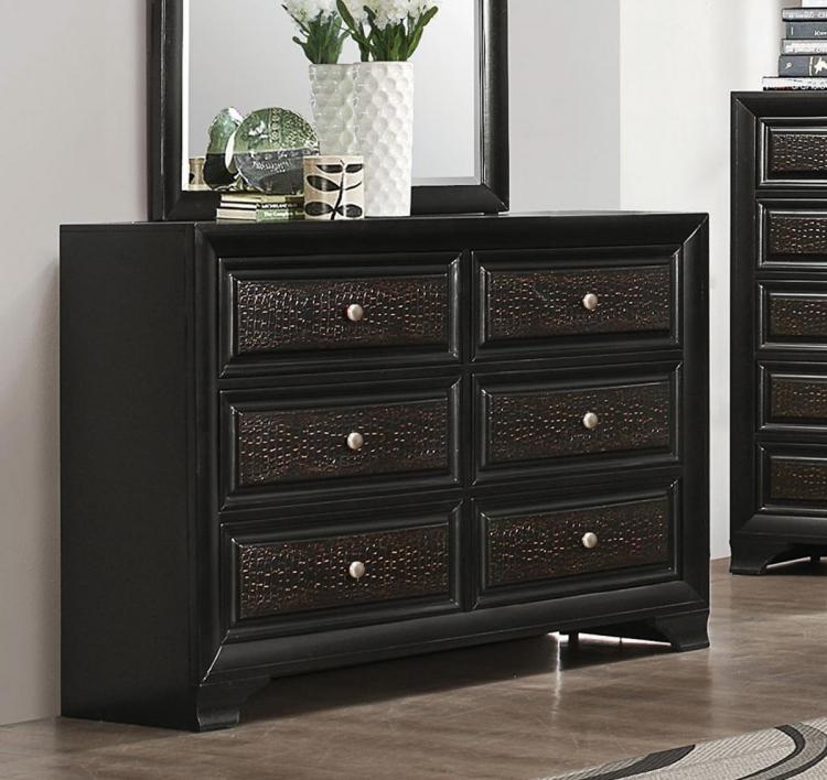 Delano Dresser - Rubbed Black