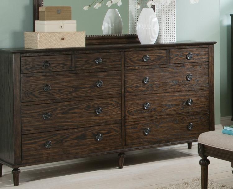 Saville Dresser - Brushed Dark Oak