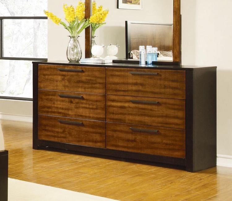 Coronado Dresser - Natural Cherry/Cappuccino