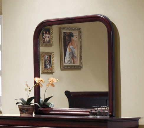 Louis Philippe Mirror - Cherry