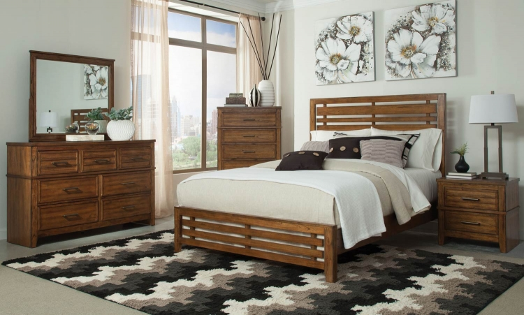 Cupertino Bedroom Collection - Antique Amber