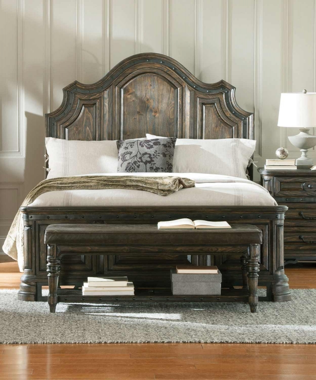 Carlsbad Bed - Dark Brown