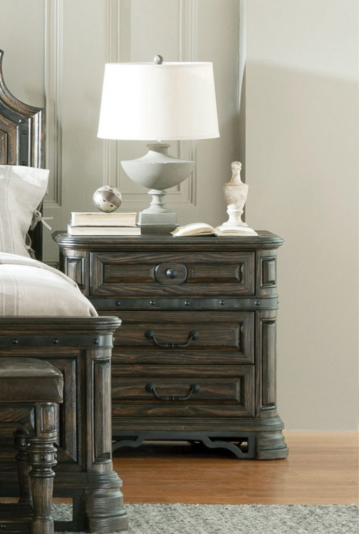 Carlsbad Night stand - Dark Brown