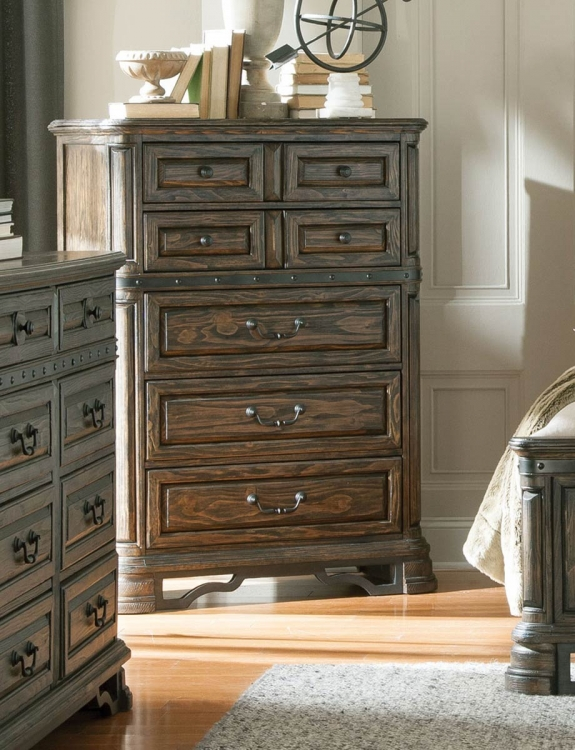 Carlsbad Chest - Dark Brown