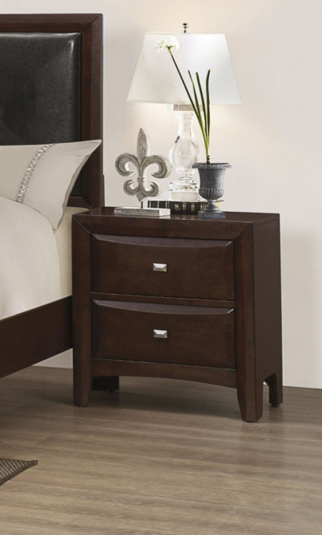 Cloverdale Night stand - Cappuccino