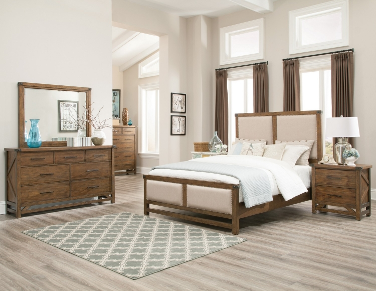 Bridgeport Bedroom Collection - Weathered Acacia