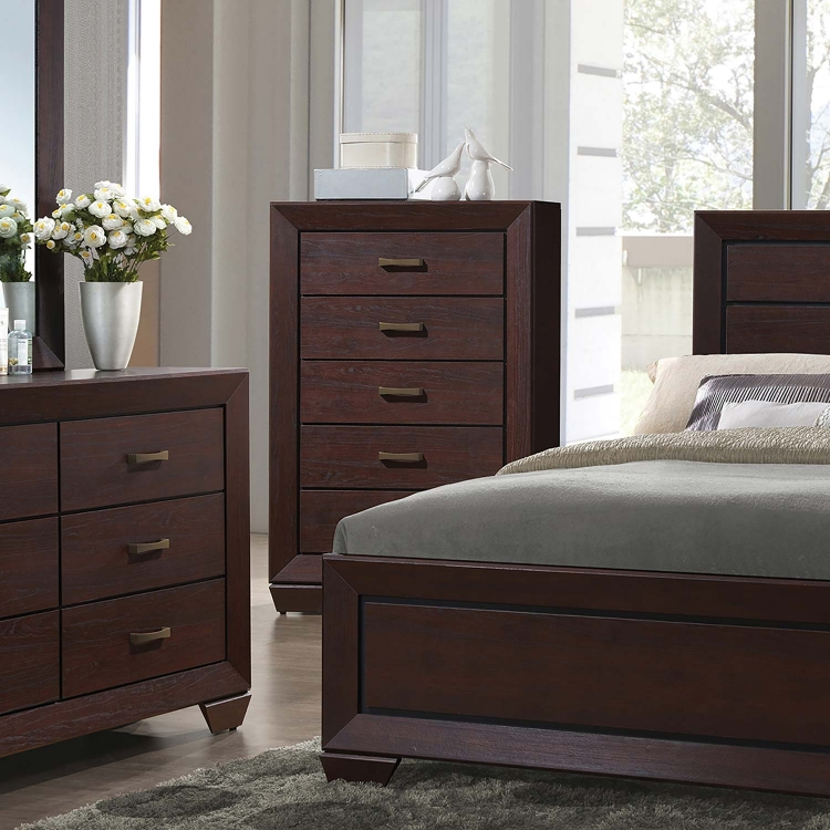 Fenbrook Chest - Dark Cocoa