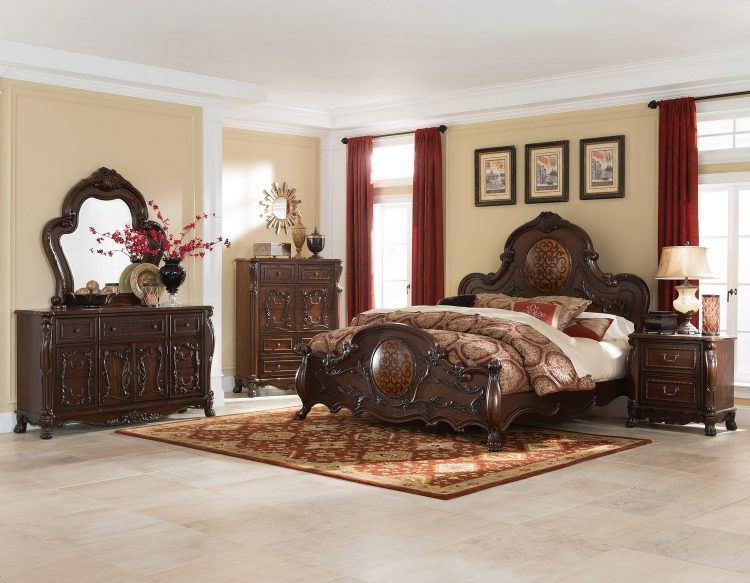 Abigail Bedroom Collection - Cherry