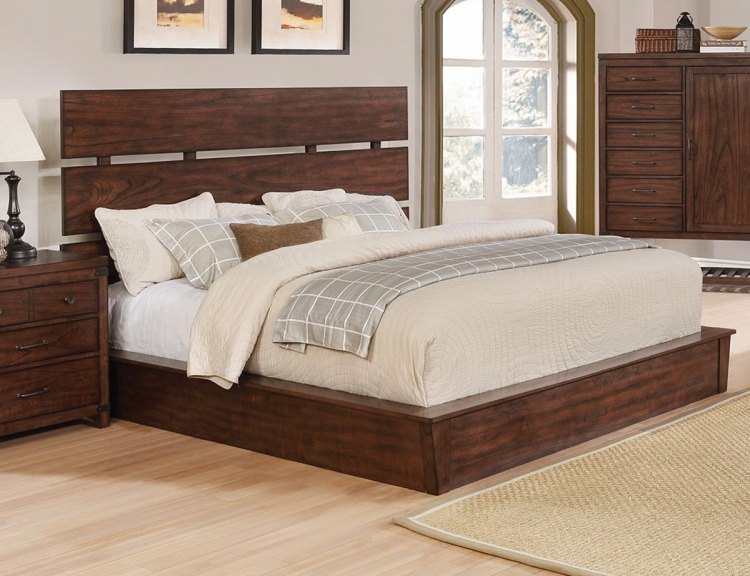 Artesia Platform Bed by Coaster Furniture.