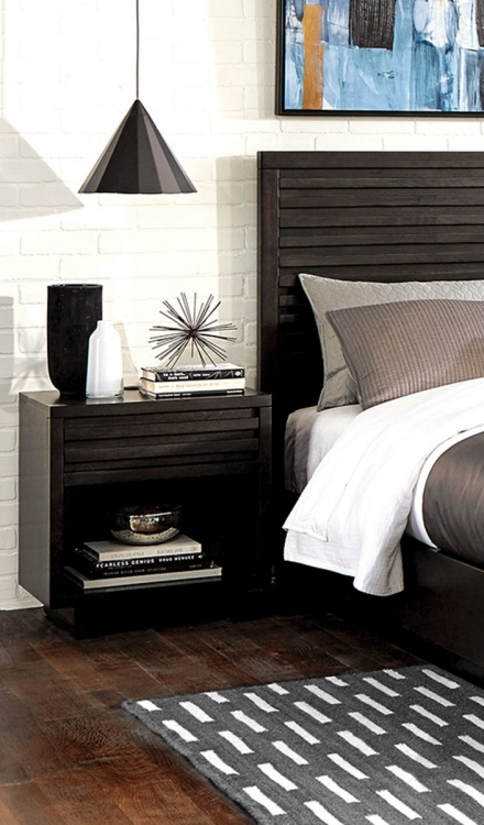 Matheson Nightstand - Graphite
