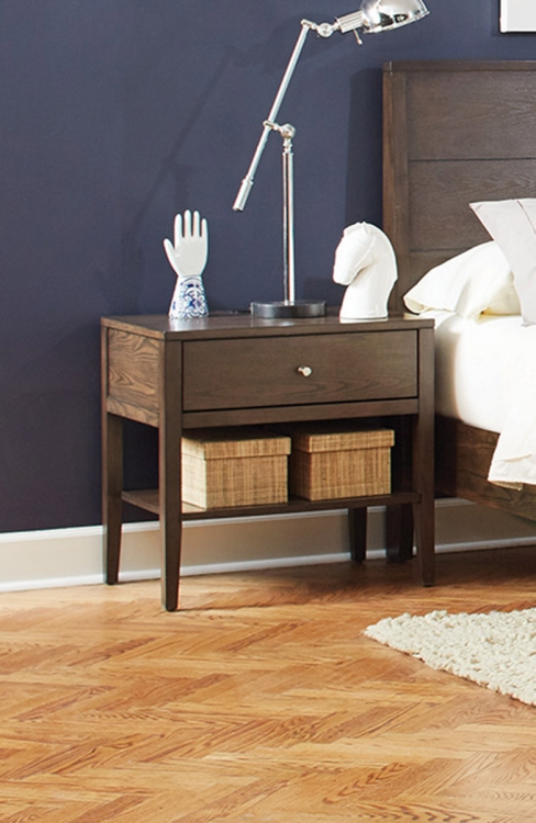 Lompoc Nightstand - Ash Brown