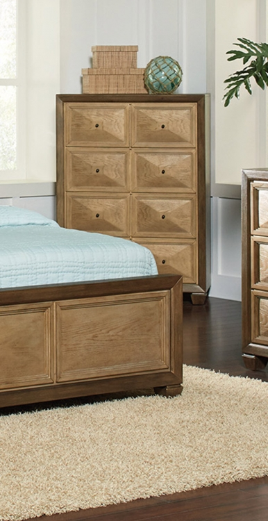 Wheatland Chest - Wire Brush sage/Antique Gold