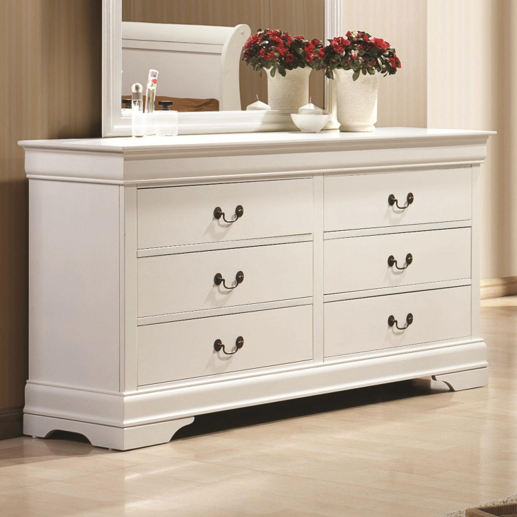 Louis Philippe Dresser - White