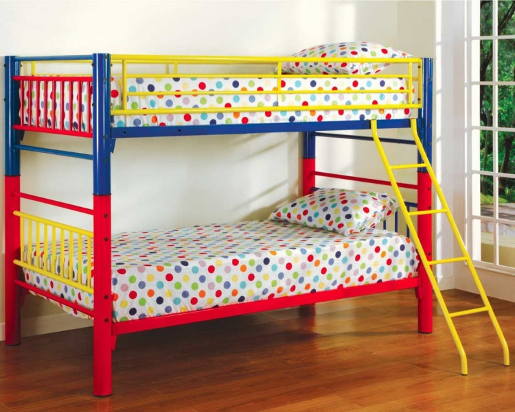 2048 Twin-Twin Bunk Bed - Coaster