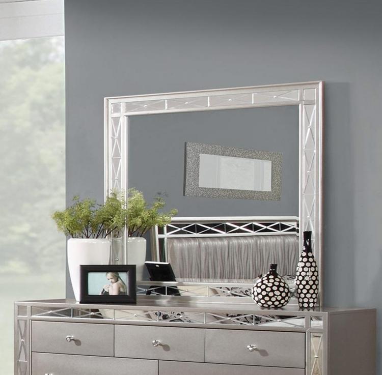 Coaster Leighton Mirror - Metallic Mercury