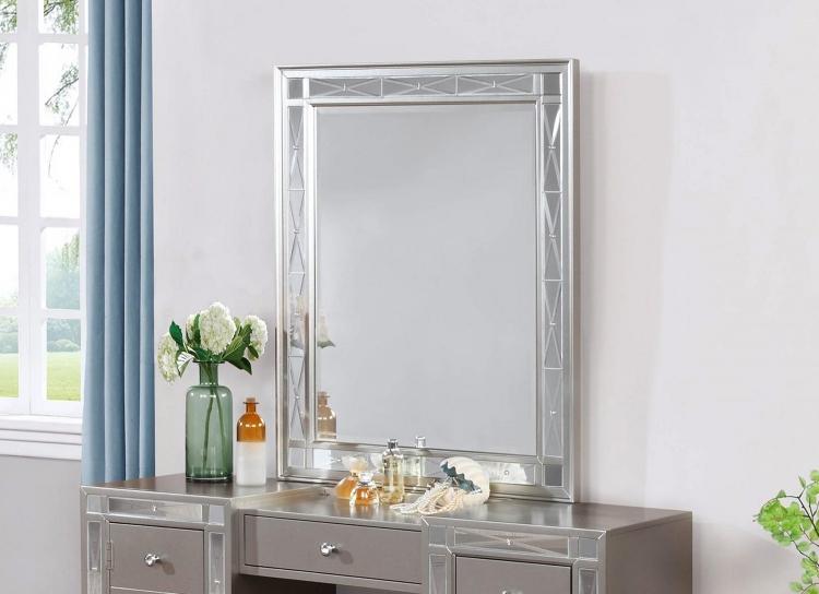 Coaster Leighton Vanity Mirror - Metallic Mercury
